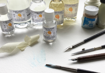 masking fluid and adhesive remover